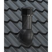 К-94 Вентиляционный выход НЕИЗОЛИРОВАННЫЙ (неутепленный) D125 мм H500 мм с проходным элементом фото