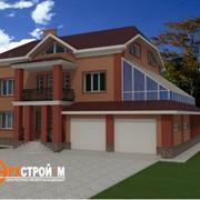 Проекты частных домов, коттеджей фото