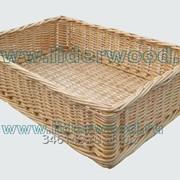 Короб плетеный универсальный 40х60 см фото