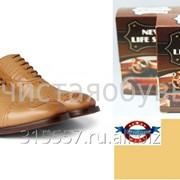 Светло коричневая краска для обуви NLS фото