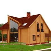 Каркасный дом. фото