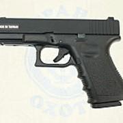 Пистолет софтэйр GALAXY G.15 (G.15D) пружинный (Glock 23) (6мм) фото