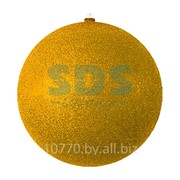 """Елочная фигура """"Шарик"""", 25 см, цвет золотой фото"""