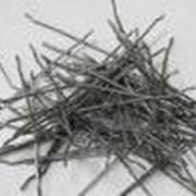 Cтальная фибра. Стальная фибра используется для объемного армирования бетона благодаря своей способности увеличивать прочность и жесткость хрупкого бетонного монолита. фото