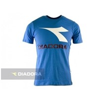 Футболка Diadora AUCKLAND TEE SS (OCEAN BLUE) фото