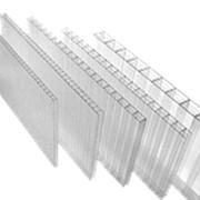 Поликарбонат сотовый 4 мм прозрачный   листы 12 м   SKYGLASS Скайгласс фото