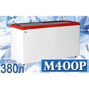 Морозильный ларь с прямым стеклом JUKA M400P фото