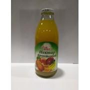 Нектар фруктовый с мякотью с сахаром гомогенизированный стерилизованный, 0.75 л фото