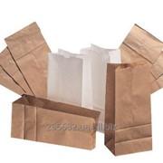 Крафт пакеты. Большой выбор (белые, бурые, с ручками и без) фото