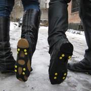 Ледоступы антискользящие накладки на обувь фото
