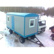Вагон - бытовки на шасси вагон - дома бытовки мобильные офисы блок - контейнер фото