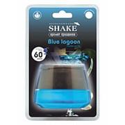 "Ароматизатор на панель банка ""Shake Blue lagoon"" Голубая лагуна AZARD фото"
