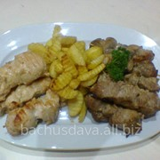 Шашлык в ресторане Bachus Dava фото