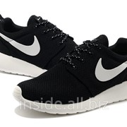 Кроссовки Nike Roshe Run Black/White фото