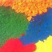 Текстиль и кожа. Сырье для легкой промышленности. Текстильные красители. Красители анионные. фото