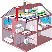 Вентиляция в частном доме фото