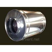 Шумоглушитель круглый ГТК L900 D=400мм фото