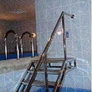 Аксессуары для бассейнов из нержавейки фото