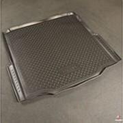 Коврик в багажник Skoda Superb 2008–2013 (полиуретановый с бортиком) фото