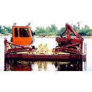 Кран-манипулятор плавучий малогабаритный с грузовым моментом 89 тм и вылетом стрелы до 7 метров Краны плавучие фото