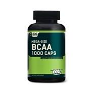 Аминокислоты, BCAA 1000, 400 капсул фото