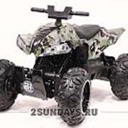 Детский квадроцикл на аккумуляторе T777TT камуфляж фото