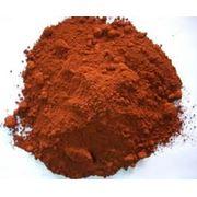Пигмент красный железоокисный фото