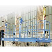 Фасадные подъемники 1х3 секционные фото
