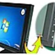 Сенсорный монитор фото