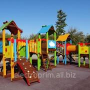 Игровой комплекс модель К39. Детская игровая площадка.Игровые комплексы серии Патиланци фото