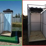 Душ Летний садовый для дачи с баком от 55 до 200 литров. Доставка по всей области. №28 фото