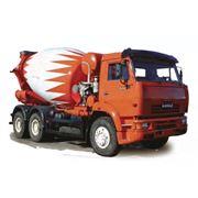 Автобетоносмеситель АБС-58148Z на шасси КАМАЗ 6520 фото