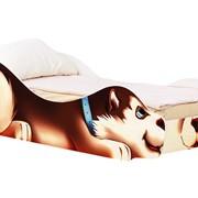 Детская кровать-машина Хаски Джек фото