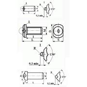 Вставки алмазные контактные к наконечникам контрольно-измерительных приборов фото