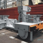 Оборудование коксовое: машина углезагрузочная МУЗ 21.6-21-У1 , вагон коксовозный , стояки для отвода газов, клапаны реверсивные фото