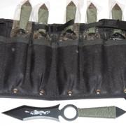 Нож метательный 6шт. набор Коготь дракона - кунай фото