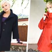 Пальто женское «Разлетайка» демисезонное. фото