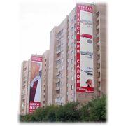 Щит рекламный Брандмауэр фото