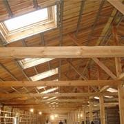 Огнезащита пиломатериалов и деревянных конструкций фото