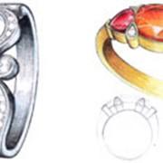 Дизайн ювелирных изделий фото