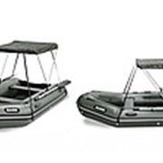 Тент для лодки Bark модель BT-420, BT-450 фото