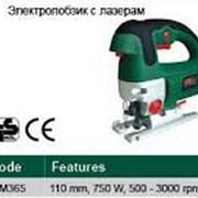Лобзик электрический с лазером RTR-MAX 110 мм,750W фото
