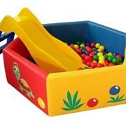 Сухой бассейн для детей с шарами фото