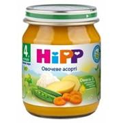 Пюре Hipp 125г Овощное ассорти, с 4мес фото