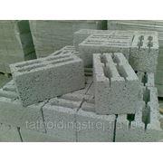 Керамзитобетонный блок 390*190*188 с доставкой фото