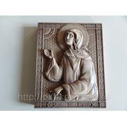 Резная икона - Святая блаженная Ксения Петербургская фото