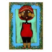 Картина Африканка для детской комнаты фото