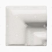Керамическая плитка Adex Angulo Marco Moldura White Caps фото
