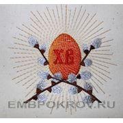 """Яйцо""""Пасха""""03 -дизайн для машинной вышивки фото"""