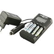 Зарядное (ЗУ пальчиковое) AA, AAA Ansmann PowerLine 4 PRO (1001-0005) фото